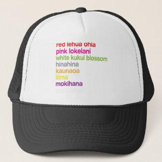 Hawaiian Flowers Trucker Hat