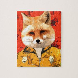 Hawaiian Fox Jigsaw Puzzle
