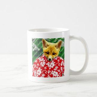 Hawaiian Fox Coffee Mugs