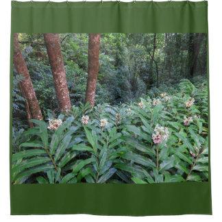 Hawaiian Ginger Shower Curtain