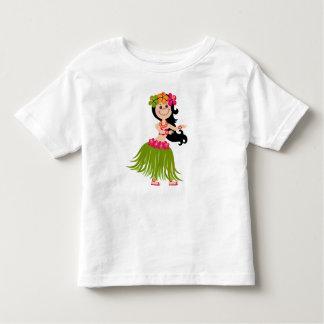 Hawaiian Girl Toddler T-Shirt