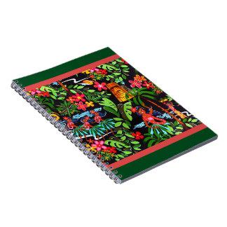 Hawaiian Girls Notebook