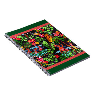 Hawaiian Girls Spiral Notebook