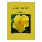 Hawaiian Happy Birthday -- Hau`oli La Hanau Card