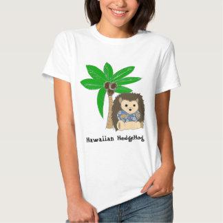 Hawaiian HedgeHog and Palm Tree T-shirt
