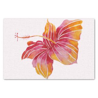 Hawaiian Hibiscus Flower 10lb Tissue Paper, White Tissue Paper