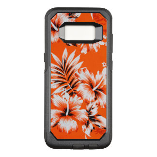 Hawaiian Hibiscus Flower Background OtterBox Commuter Samsung Galaxy S8 Case