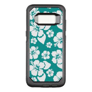 Hawaiian Hibiscus Flower Pattern OtterBox Commuter Samsung Galaxy S8 Case