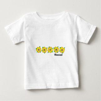 Hawaiian Hibiscus Flowers Hawaii Baby T-Shirt