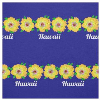 Hawaiian Hibiscus Flowers Hawaii Fabric