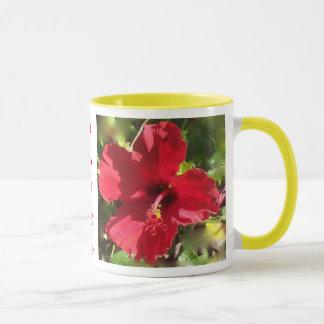 Hawaiian Hibiscus mug