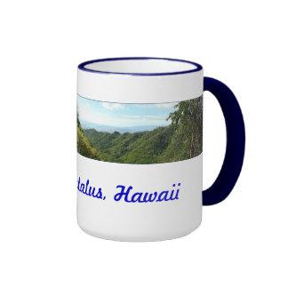 Hawaiian Hiking Trail Ringer Mug