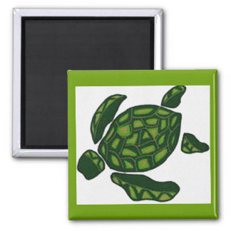 Hawaiian honu turtle magnet