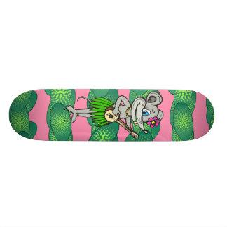 Hawaiian Hula Mouse 21.6 Cm Skateboard Deck