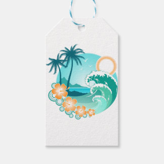 Hawaiian Island 1 Gift Tags
