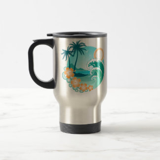 Hawaiian Island 1 Travel Mug