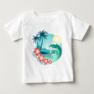 Hawaiian Island 2 Baby T-Shirt