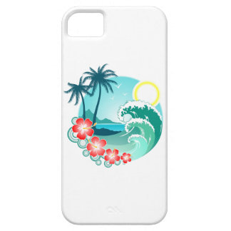 Hawaiian Island 2 iPhone 5 Case