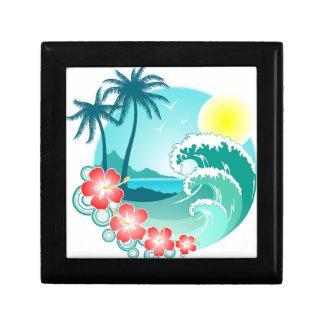 Hawaiian Island 3 Gift Box