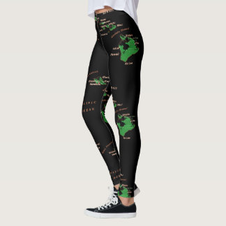 Hawaiian island Leggings