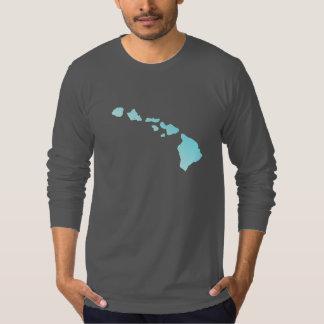 Hawaiian Islands American Apparel Long Sleeve T-Shirt