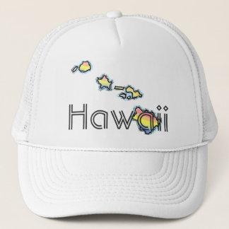 Hawaiian islands Hawaii hat
