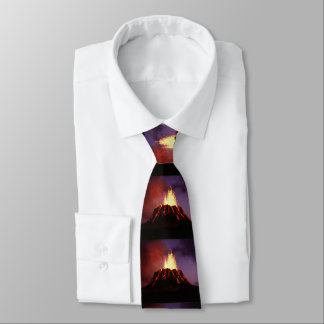 Hawaiian Islands Volcano Tie