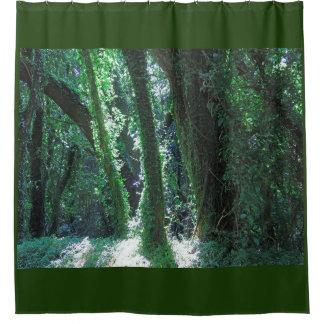 Hawaiian Jungle Shower Curtain
