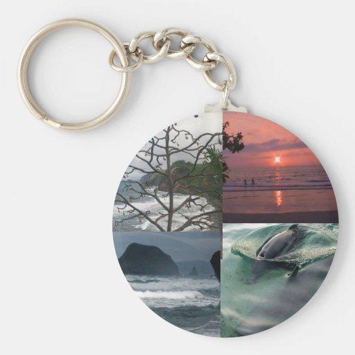 Hawaiian Landscape Keychain