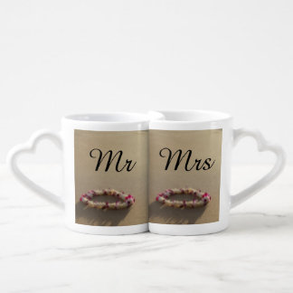 Hawaiian Lei Beach Wedding Couples Mug