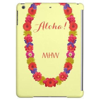Hawaiian Lei custom monogram cases