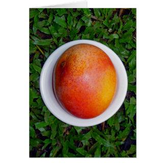 Hawaiian Mango Card