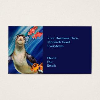 Hawaiian Monk Seal Business Card
