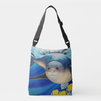 Hawaiian Monk Seal Crossbody Bag