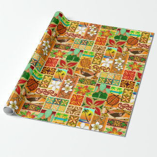 Hawaiian Motif 004 Wrapping Paper