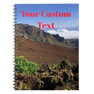 Hawaiian Mountain Range Notebook