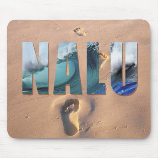 "Hawaiian ""Nalu"" (Surf) Mousepad"