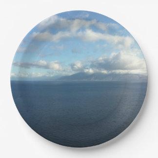 Hawaiian Ocean Horizon Paper Plates