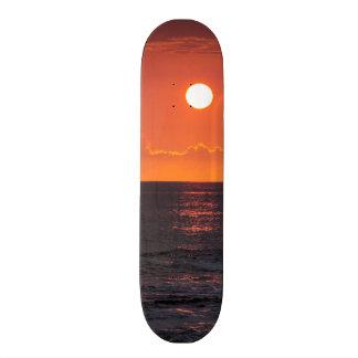 Hawaiian Ocean Sunset - Hawaii Sunsets 18.1 Cm Old School Skateboard Deck