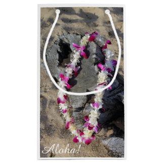 Hawaiian Orchid Lei Gift Bag
