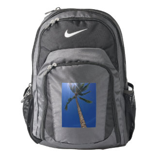 Hawaiian Palm Tree and Sun Rays Nike Backpack