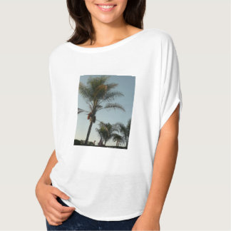 Hawaiian palm tree in California T-Shirt