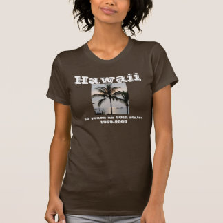Hawaiian Palm Tree T Shirt