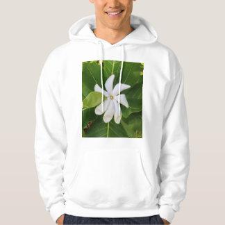 Hawaiian Pikake Jasmine Blossom Hoodie