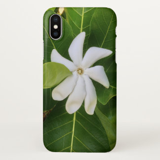 Hawaiian Pikake Jasmine Blossom iPhone X Case
