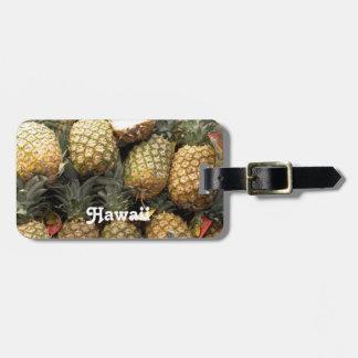 Hawaiian Pineapple Luggage Tag