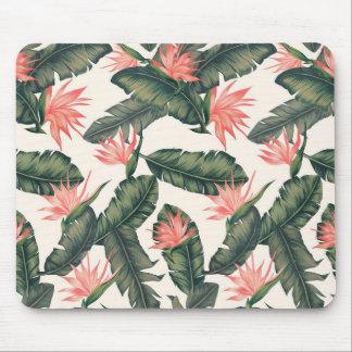 hawaiian print vsco vintage tropical mouse pad