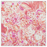 HAWAIIAN PUNCH Red Wild Hibiscus Floral Fabric