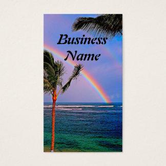 Hawaiian rainbow Business Card