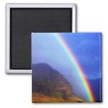 Hawaiian Rainbow Magnet 2 Inch Square Magnet